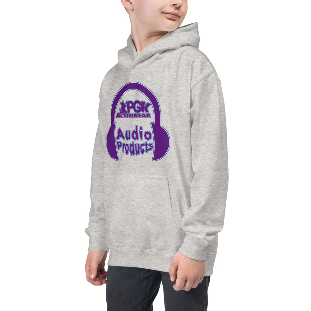 PGK Audio Products Hoodie - Lavender Tone