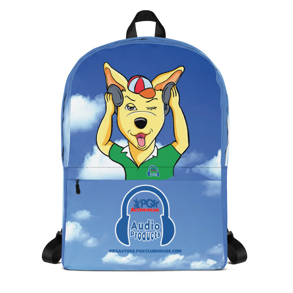 PGK Music-Box's Blue Sky Back Pack Featuring Kevin the Kangaroo
