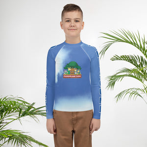 Promiseland Park's Youth Audio Rash Guard