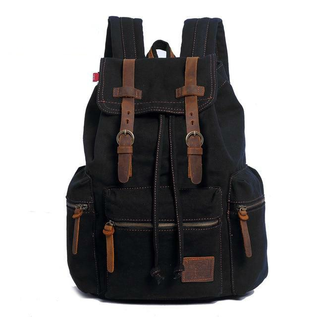 Audio Vintage Canvas Backpack - For Adults who Love and Support Children!