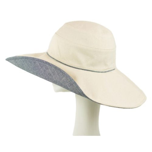 Hat- Canvas Sun Hat Natural