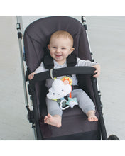 Silver Lining Cloud Jitter Stroller Baby Toy