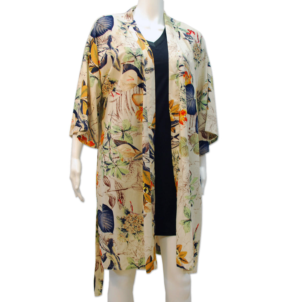 Tropical Rayon Robe
