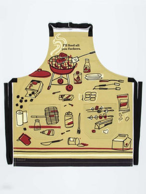 Apron - I'll Feed All You F*ckers Apron