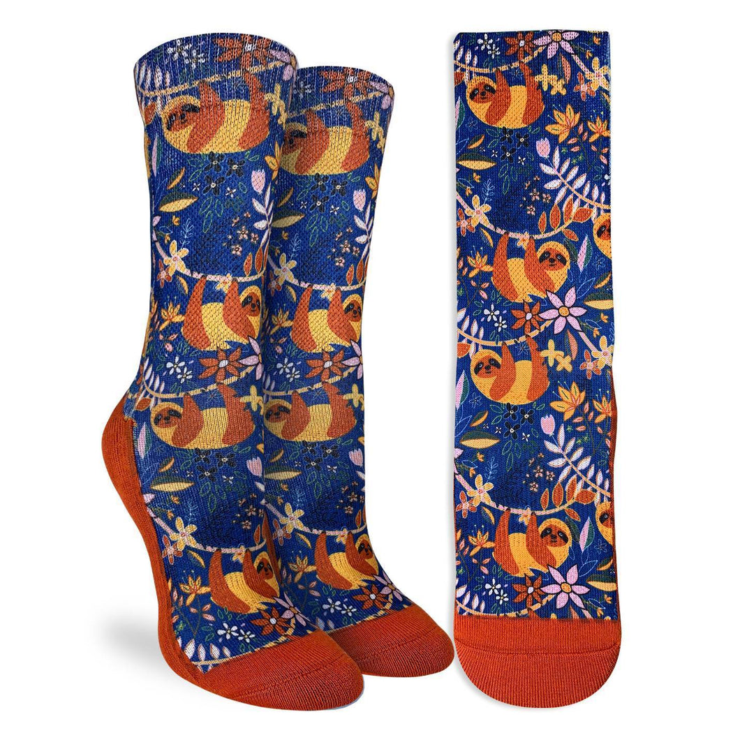 Women's Sloths Hanging Out Socks