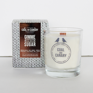 Coal and Canary Candle-Gimme some sugar