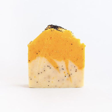 SOAK Bath Citrus Poppyseed Soap