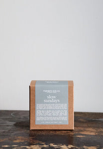 Farmers son co Candle-Slow Sundays