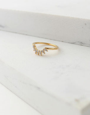 Nova Ring Size 7- Gold
