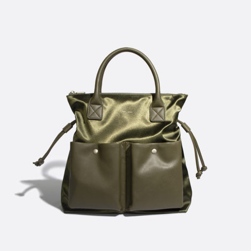 Pixie Mood Avery Tote - Satin Olive