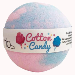 Cotton Candy Bath Bomb