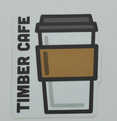 Timber Cafe Coffee Cup