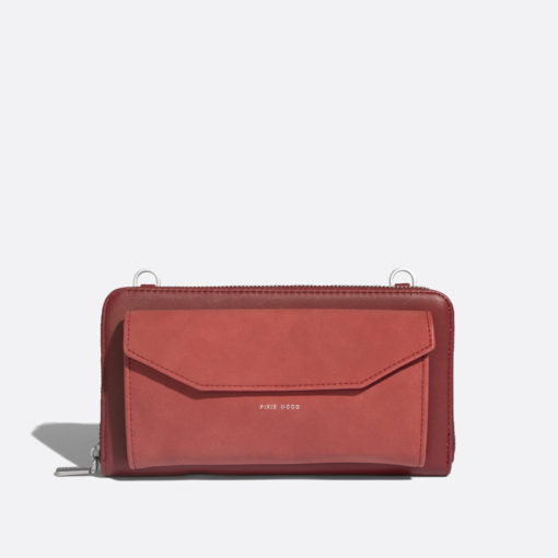 Pixie Mood Frances Wallet - Red/Nubuck