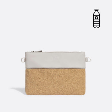 Pixie Mood Nicola Large Clutch - Cloud