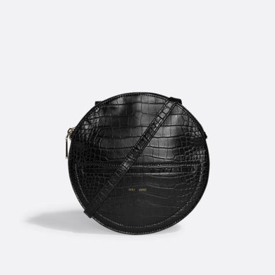 Pixie Mood Phoebe Crossbody - Black Croc