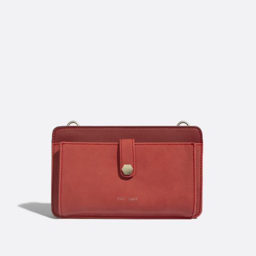 Pixie Mood Sabrina Crossbody - Red Nubuck