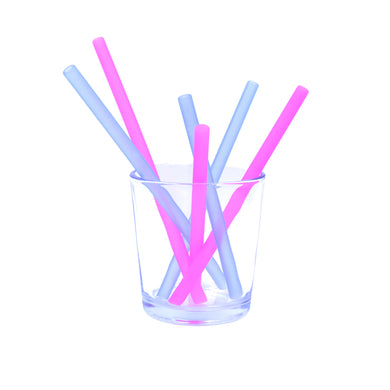 Family of Straws 6pk - Berry/Cobalt
