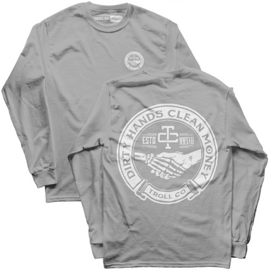 Grey Haggler Long Sleeve T-shirt