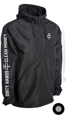 Black Harboured Windbreaker