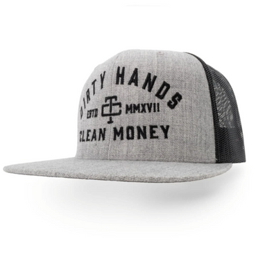 DHCM Meshback Heather Grey Hat