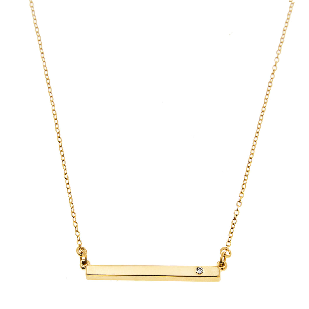 Skyler Necklace in Gold or SIlver
