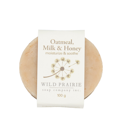 Wild Prairie Soap - Oatmeal Milk & Honey