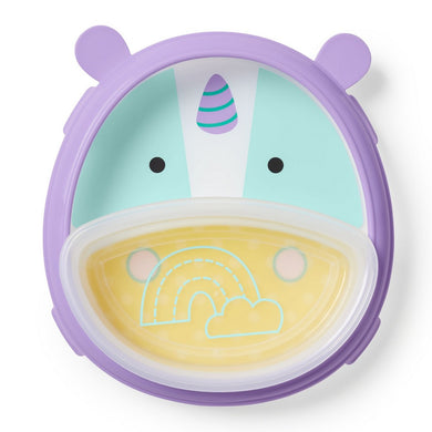 Smart Serve Plate & Bowl - Unicorn