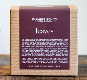 Farmers son co Candle-Leaves
