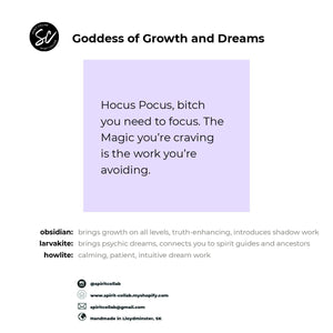 Spirit Collab - Goddess of Growth &  Dreams