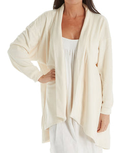 KayAnna Velvet Fleece Open Cardigan
