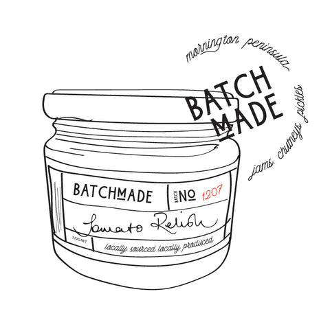 Drawing on Batchmade jar