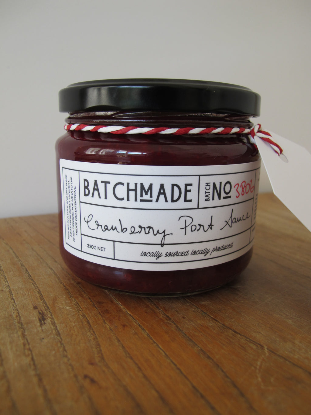 Cranberry and port sauce by BatchMade
