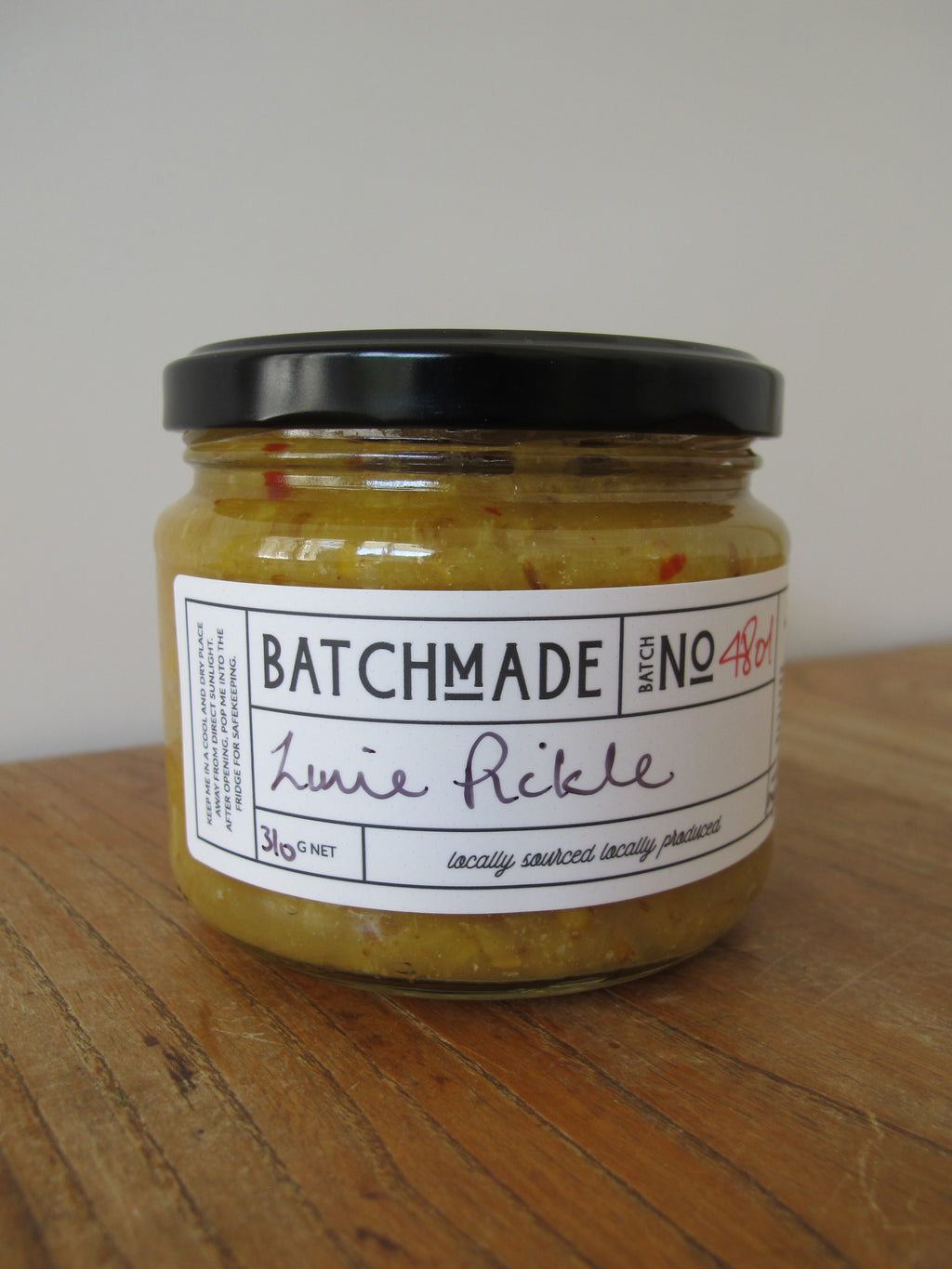 Lime pickle by BatchMade