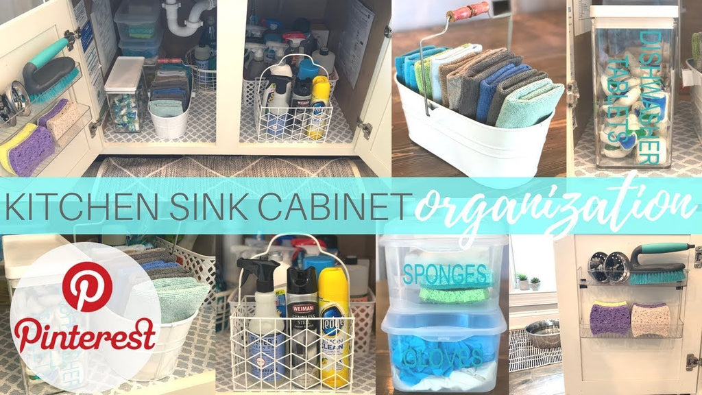 Hey y'all! So, I had a huge mess in my cabinet underneath my kitchen sink where I store all my cleaning products and it was in need of some severe decluttering ...