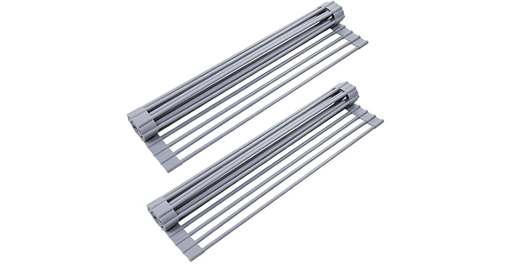 2 Pack Roll Up Dish Drying Rack – Just $13.72!