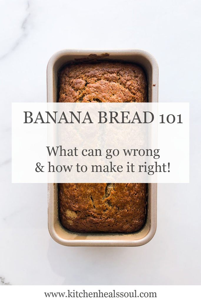 "Banana bread recipes are some of the easiest to follow and considered a ""go-to"" baked good to make, even for novice bakers"