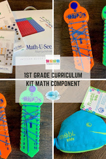 Mobi Kids Game from Timberdoodle Review {1st Grade Curriculum Kit}