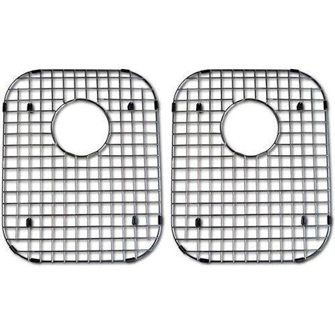 Amazon azhara azlxud771bg kitchen sink grid two pack stainless steel