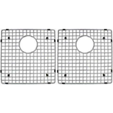 Try azhara azlxzd882dm4bg culinary kitchen sink grid two pack stainless steel