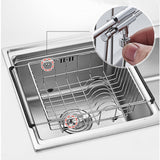 Best seller  yc electronics retractable stainless steel kitchen shelf vegetables basin dish rack fruit vegetable basket drain basket kitchen sink