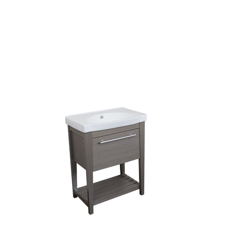 Featured bellaterra home single sink gray wood vanity 27 5