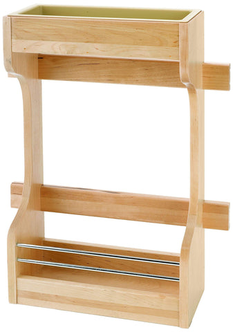 Top rated rev a shelf small sink base organizer door storage natural