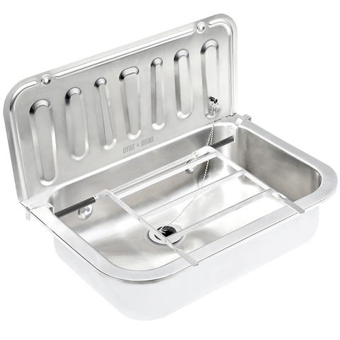 STAINLESS STEEL BUCKET SINK