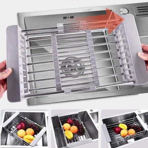Retractable Sink Rack - Azything