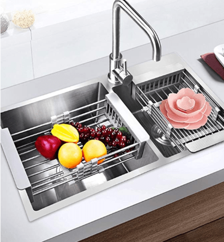 Telescopic Kitchen Sink Rack