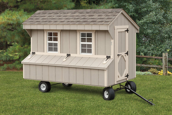 Quaker 4x8 Chicken Coop