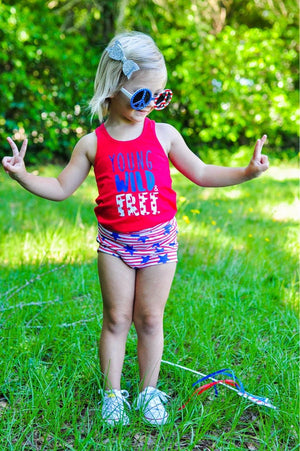 SURPRISE GRAB BAG Bloomers - Stretchy Knit Toddler Shorties - Kids Shorts - Floral Bummies Summer Stripes Girls Trendy Arrows Kids