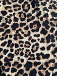 Leopard Twirl Peplum or Dress