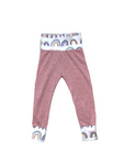 Pink With Modern Rainbow Joggers