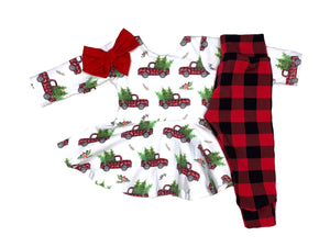 Buffalo Plaid Unisex Leggings